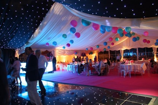 Dreamy themed marquee