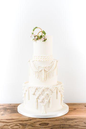 Dream Lover Wedding Cake