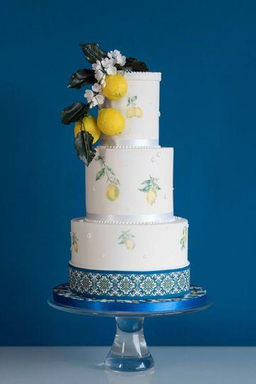 Amalfi Wedding Cake