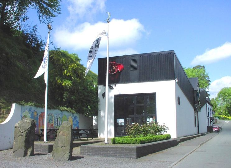 Entrance to Andrew Logan Museum of Sculpture