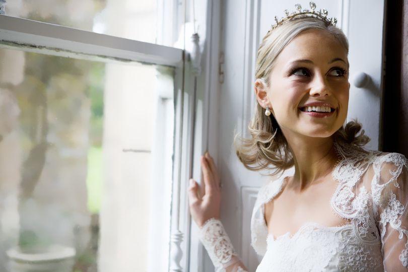 Carolyn Clayton Wedding Hair