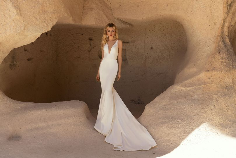 Simple statement gowns