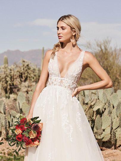 Lace detail wedding dresess