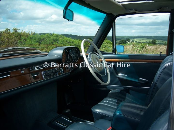 Classic Mercedes interior