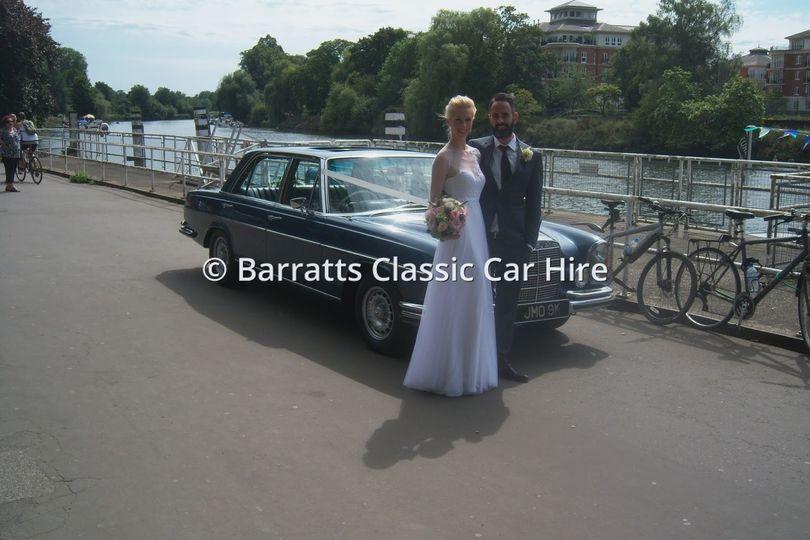 London wedding car