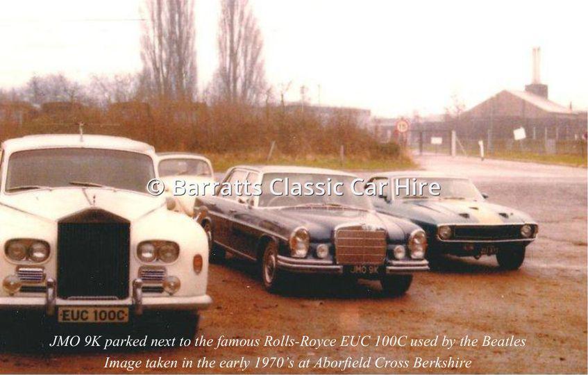 Beatles Rolls-Royce 1970's