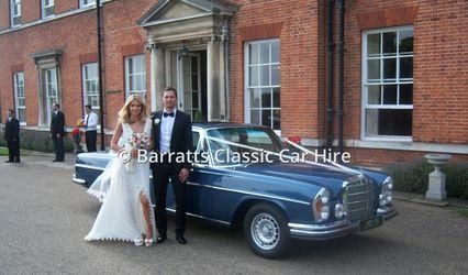 Barratts Classic Car Hire 1