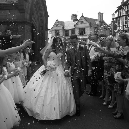 A beautiful summer bride