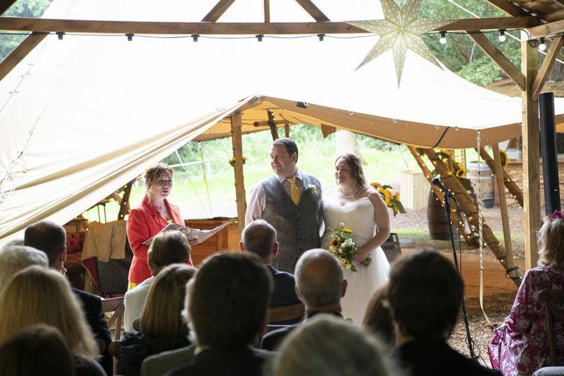 Tipi wedding by Rachael Meyer