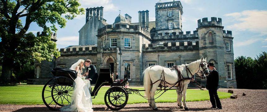 Winton Castle Wedding Carriage