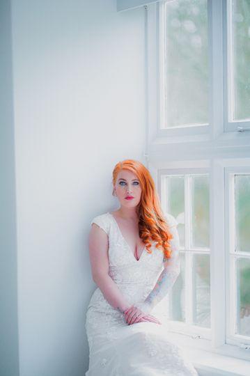 Cockington bride