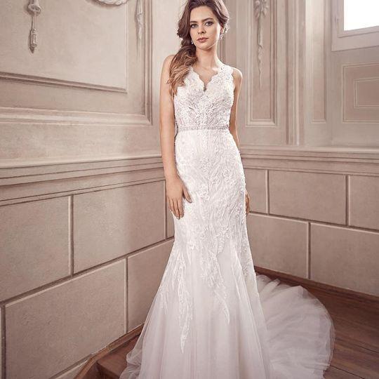 Wedding dress glam