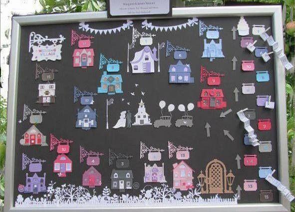 Wedding village table plan