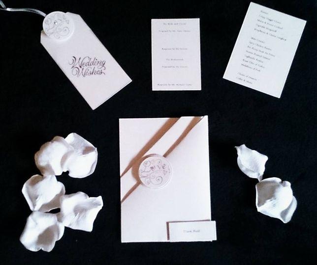 Lovers Lane wedding stationery