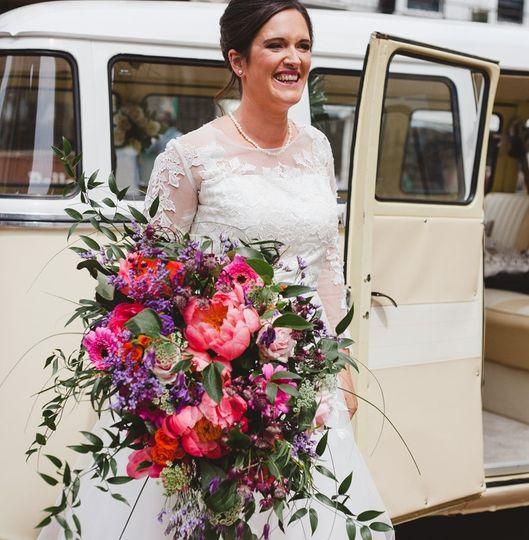 Boho wedding bouquet