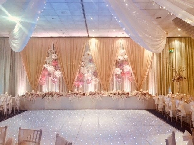 Sparkle Dance Floor and Backdrop