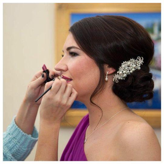 Stunning bridesmaid