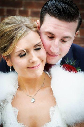 Winter bride Claire