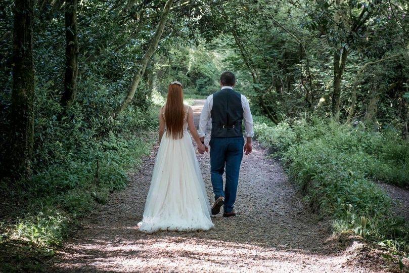 Sealyham woodland walk
