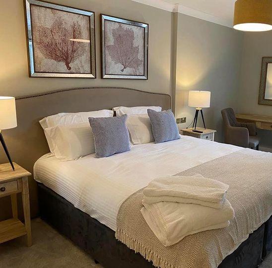 New hotel room