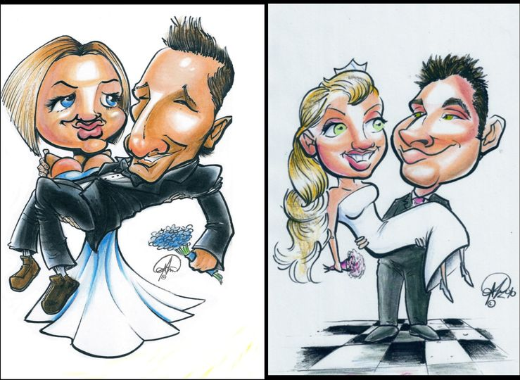 Some of my commission caricatures