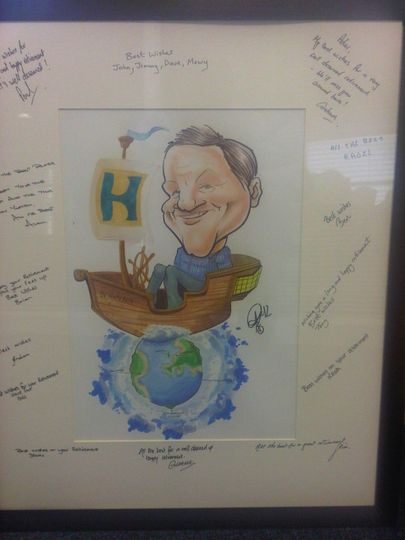A gift Caricature
