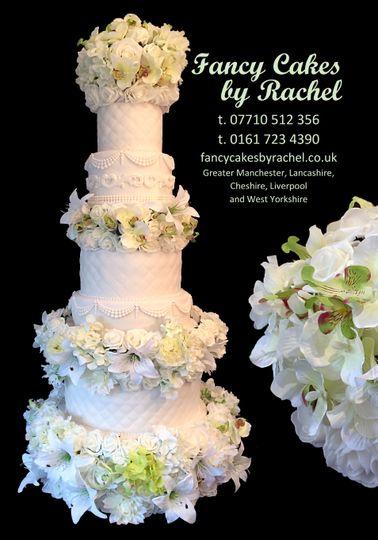 white wedding cake mere golf resort 4 110483
