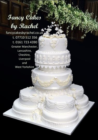 11 tier wedding cake