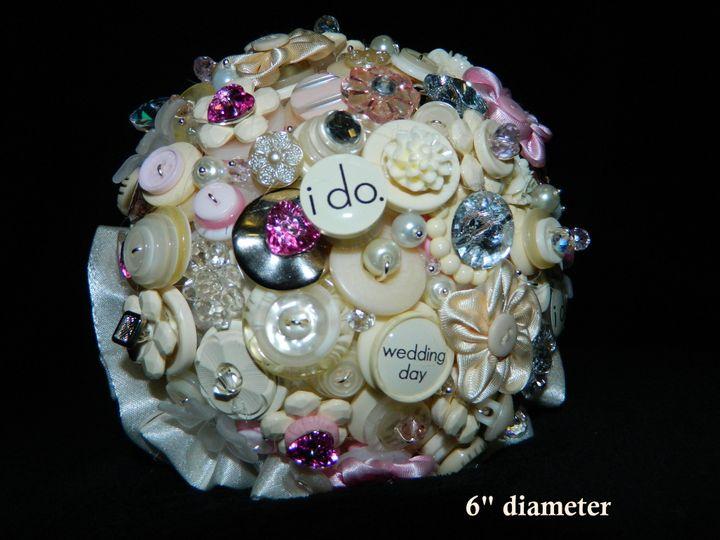 I do button bouquet