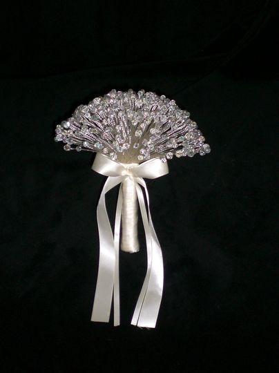 Swarovski Crystal Posy Bouquet