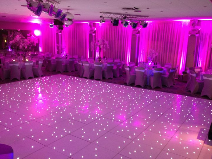 LED dance floor & up-lighting