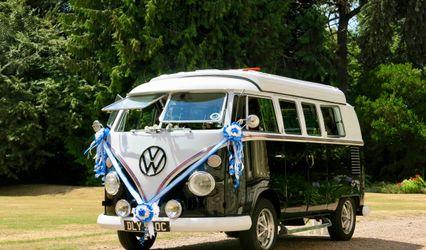 VW Black Betty Wedding Hire Campervan 1
