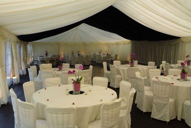 White wedding event