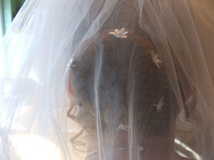 Wedding bun and curls