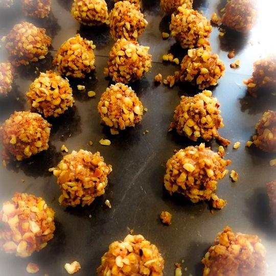 Hazlenut truffles