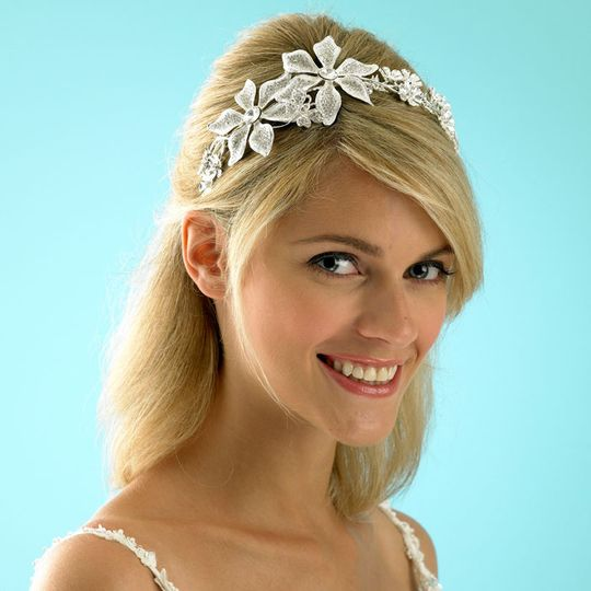 Floral Wedding Headbands