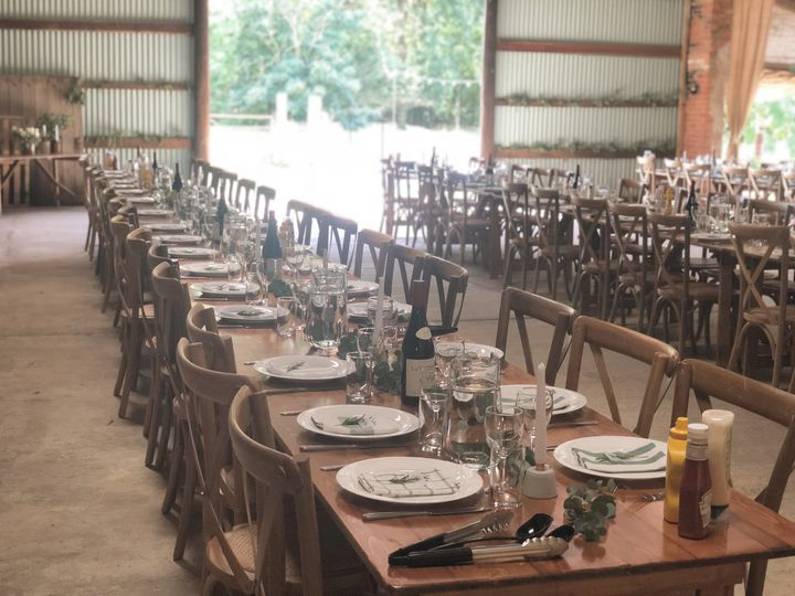 Long-table layout