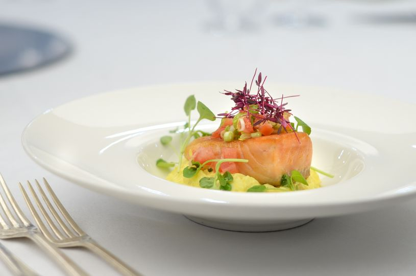 Our Salmon dish