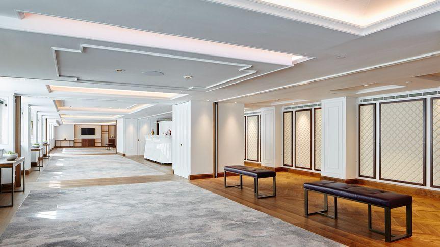 Whitehall suite Reception area