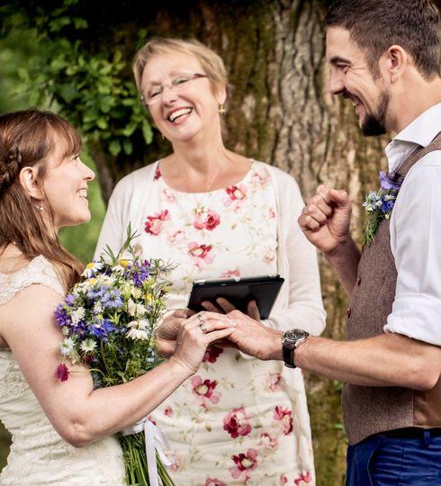 Woodland Ceremony, Exchanging