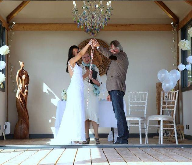 Hand Fasting in Cornwall