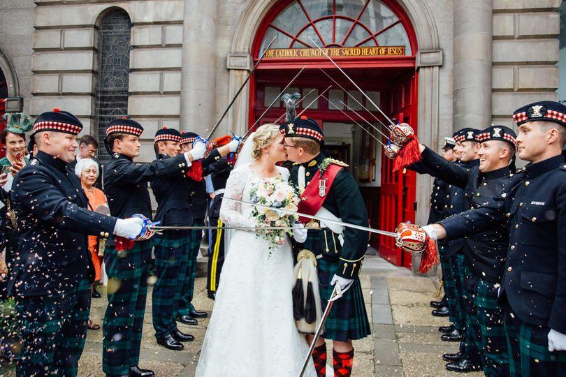 Guard of Honour ceremony exit