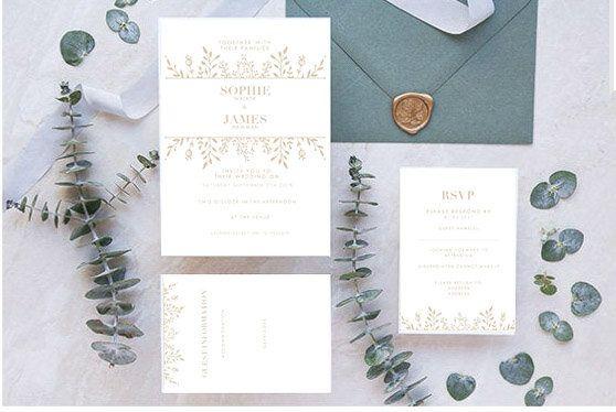 Invitation Set: RSVP