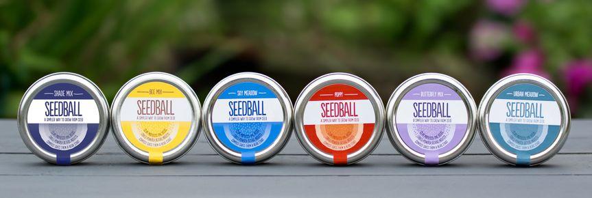 Seedball Tins - Classics Range
