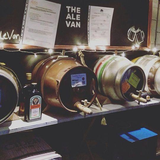 Mobile Bar Services The Ale Van 8