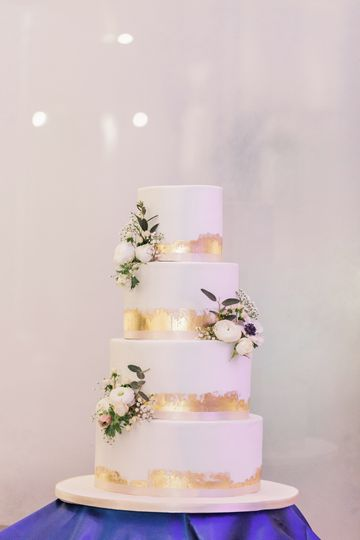 Edible Gold Leaf Accents