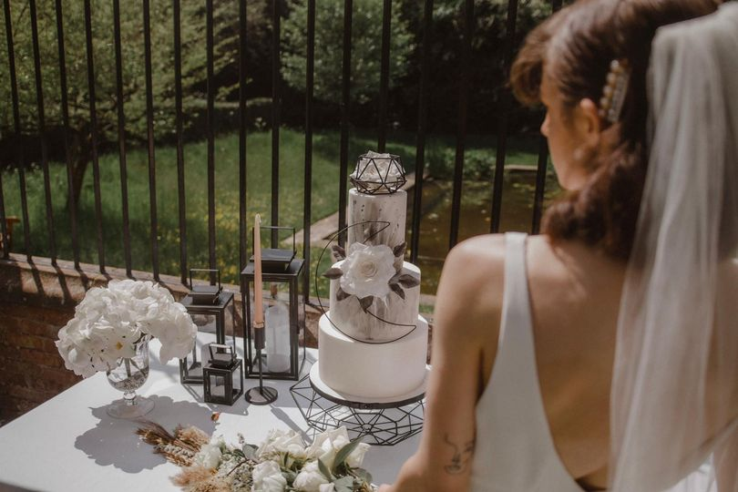 Wedding cake and table decor - Sterling Shoots Photography