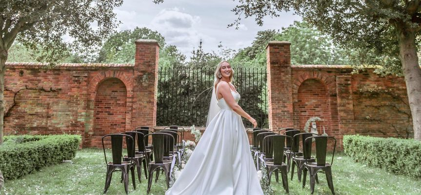 Outdoor ceremony site - Sterling Shoots Photography