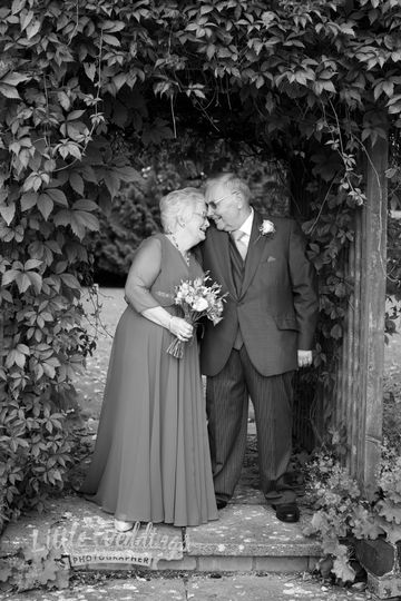 Mature wedding by Sharon White