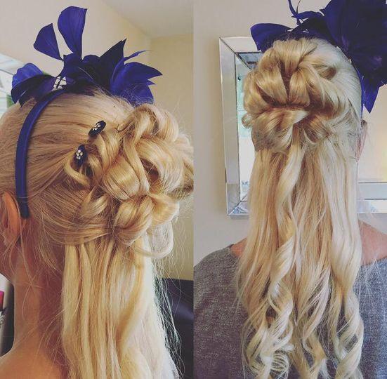 Hair by me.